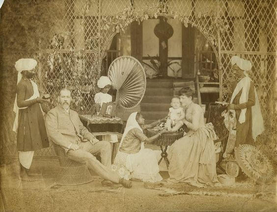 14 European family with servants in India c1880s.jpg