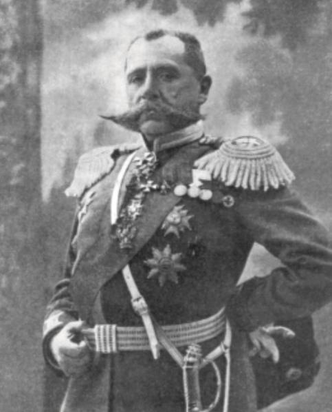 Генерал от кавалерии П. К. фон Ренненкампф, фото 1914 года.