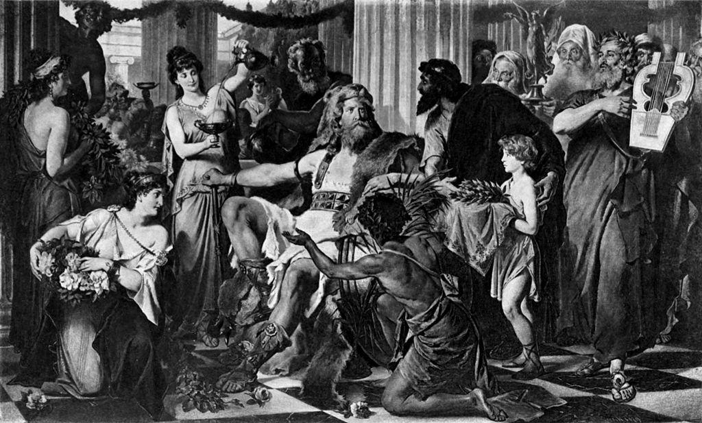 Л. Тирш, «Аларих в Афинах».