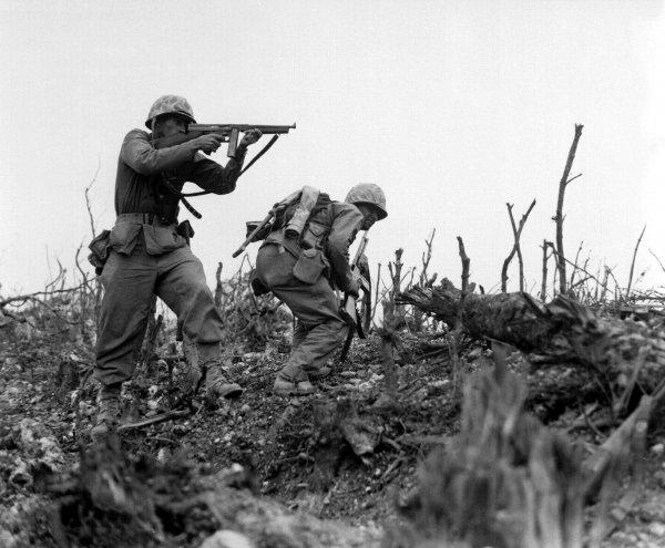Американская морская пехота, 1945 г.