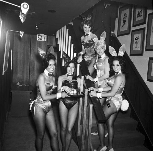Playboy Club в 1963 году. <br>