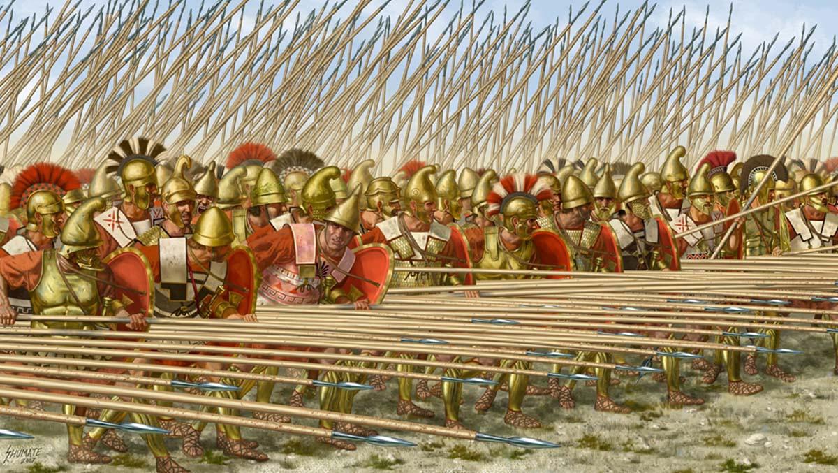 Македонское войско.