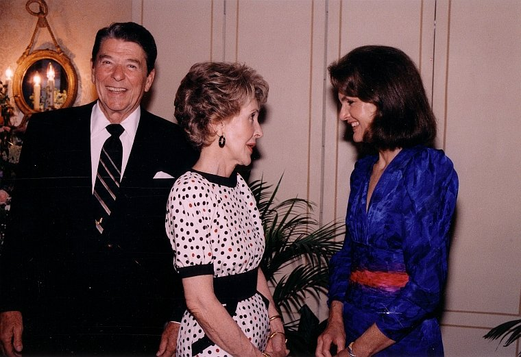 President and Mrs Reagan with Mrs Onassis.jpg