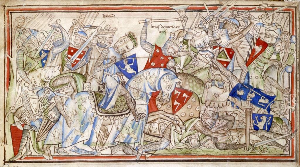 Вторжение викингов в Англию. Источник: Wikimedia Commons