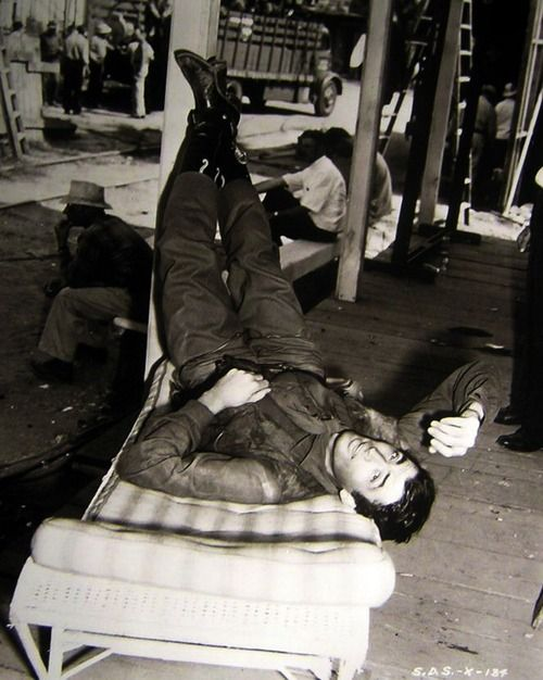 22 Gregory Peck on set Duel in the Sun - 1946.jpg