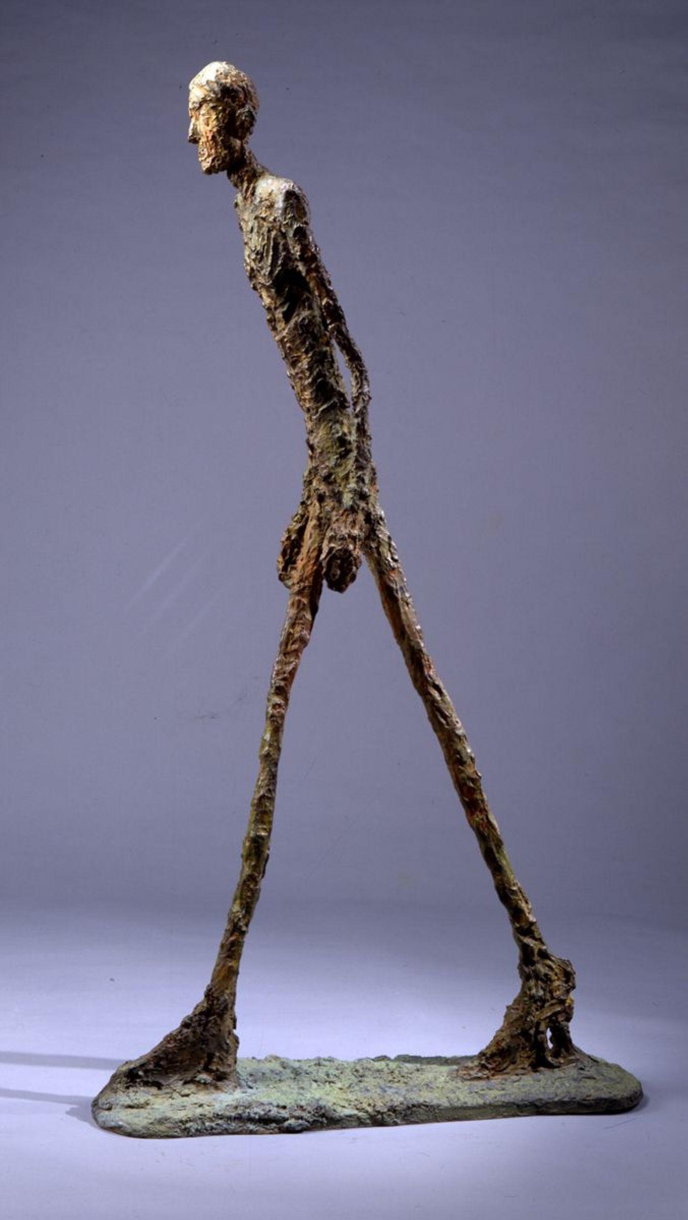 «Шагающий человек», Альберто Джакометти. <br>