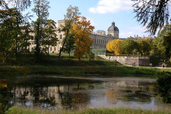гатчина фото парка и дворца