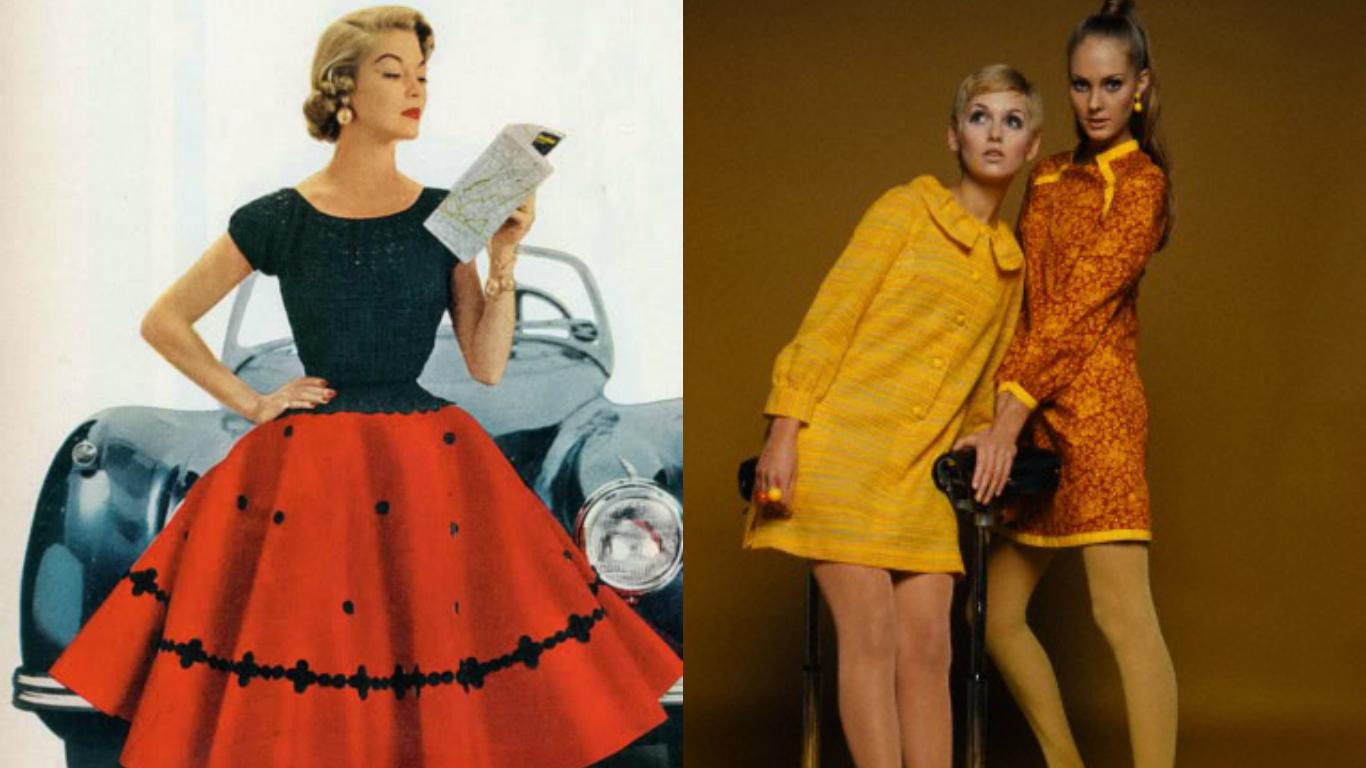 Мода 50 60 годов фото