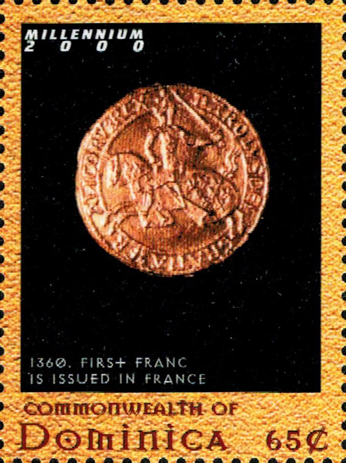 Французский франк: валюта, созданная для выкупа из неволи