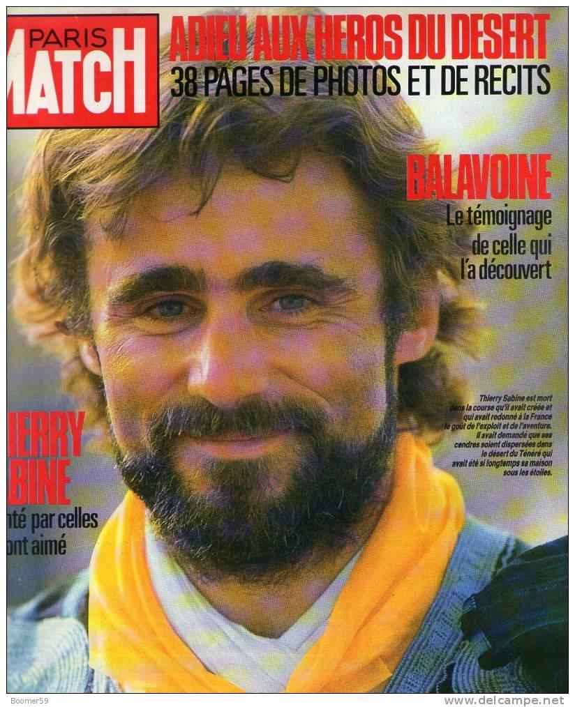 Сабин на обложке журнала «Пари Матч»