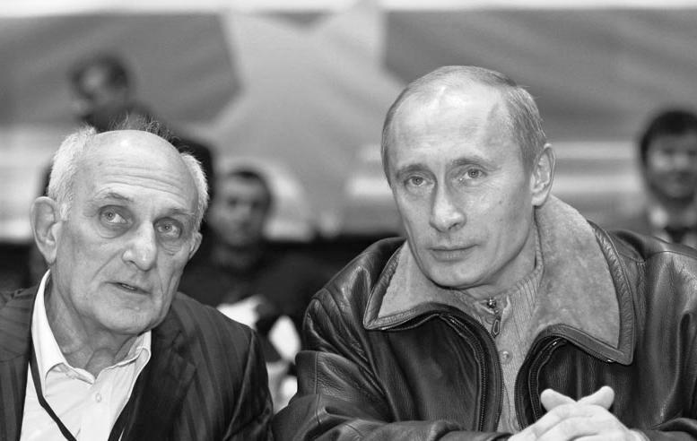 Путин с Анатолием Рахлиным.