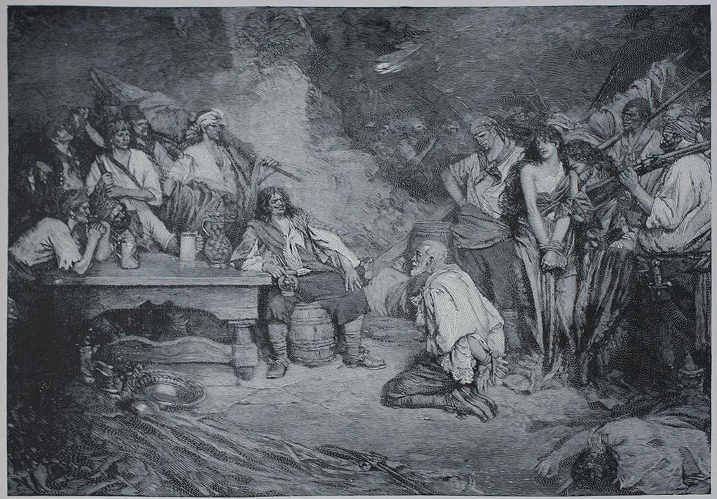 5. Генри Морган и пленные испанцы..jpg
