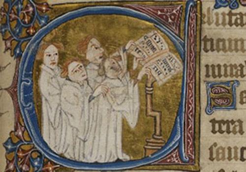 Чтение нотной грамоты.