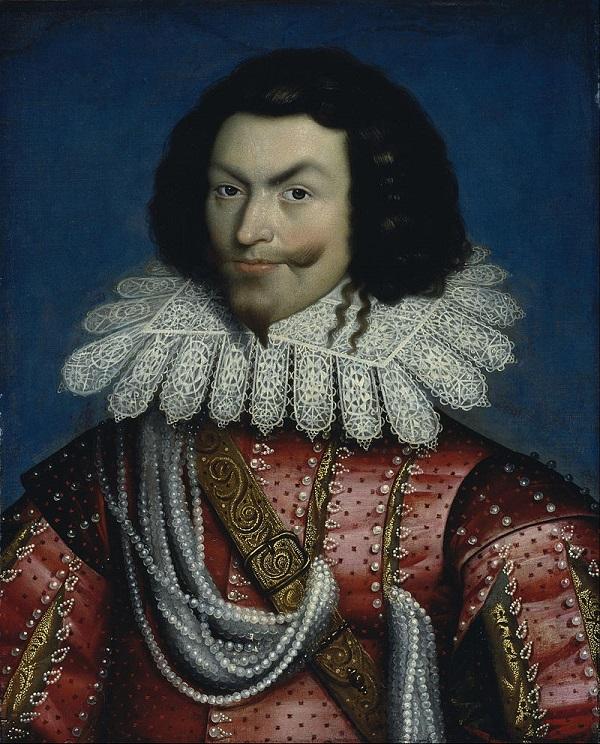 Бекингем. Портрет 1622 года.