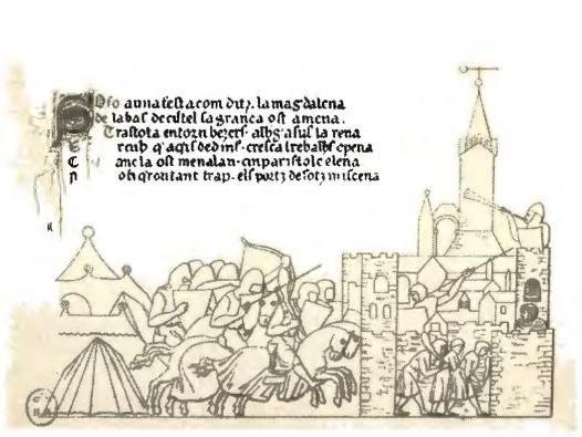 Штурм крестоносцами Безье.
