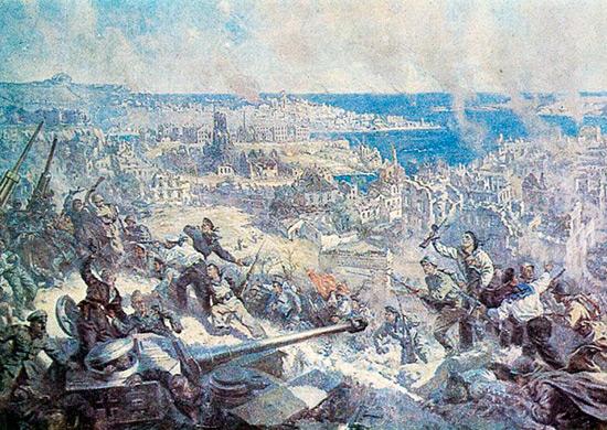 П. П. Соколов-Скаля. Освобождение Севастополя. Май 1944 г.