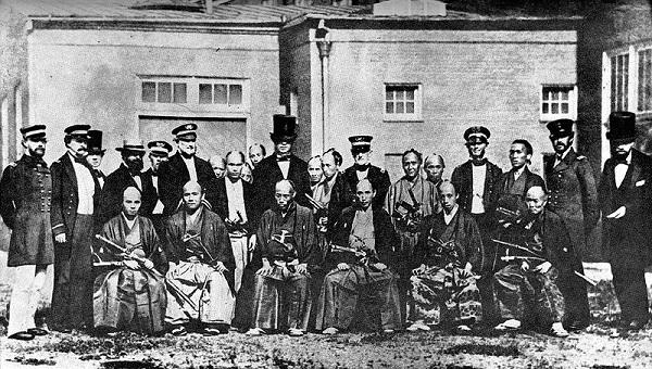 Японская делегация в Соединенные Штаты.
