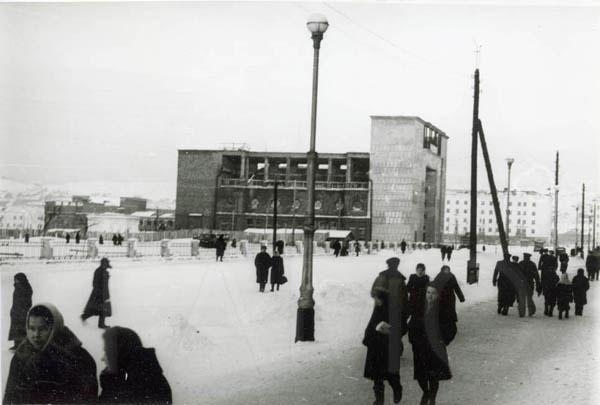 Послевоенный Мурманск. 1948 г.
