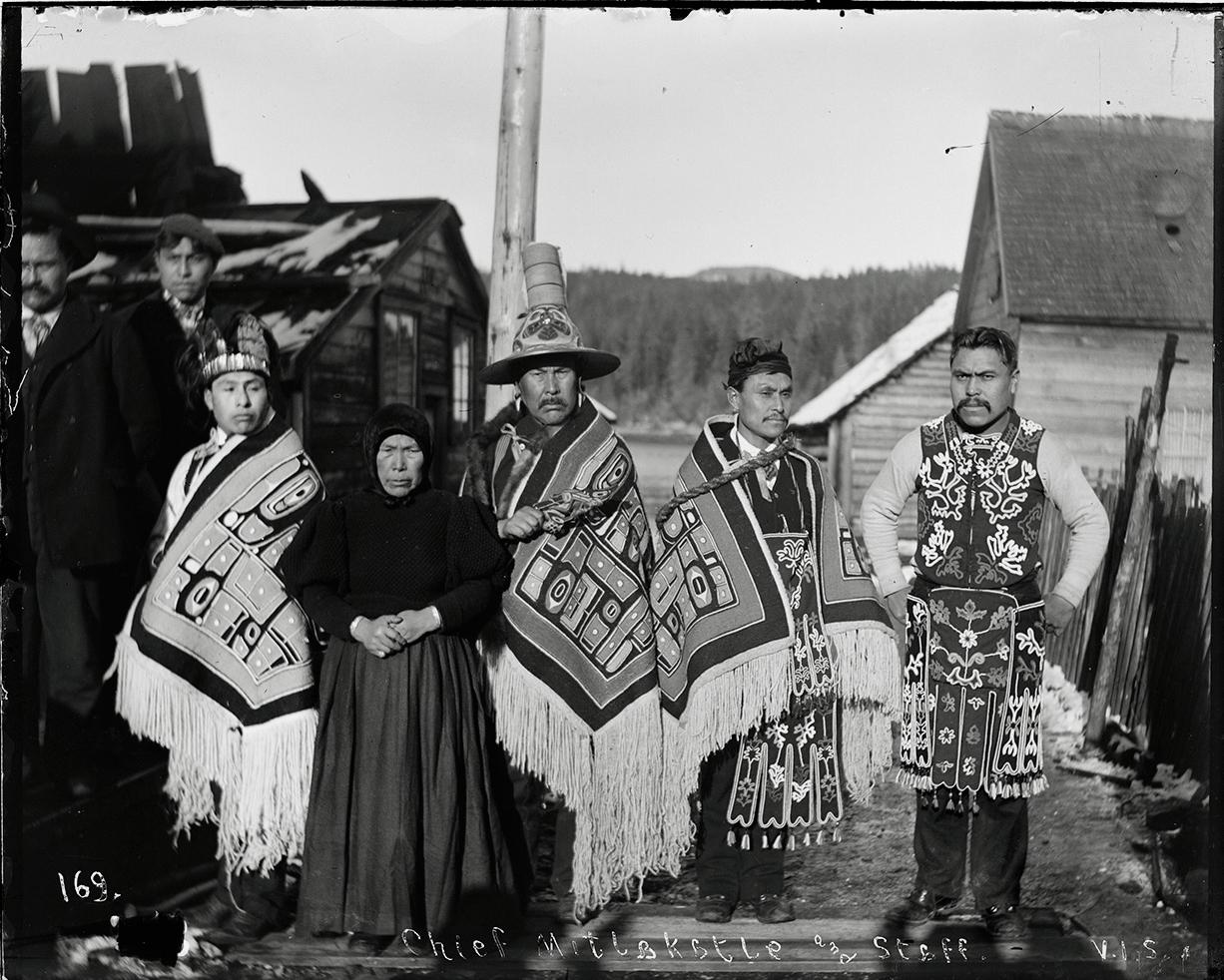Тлинкиты, конец XIX века. <br>