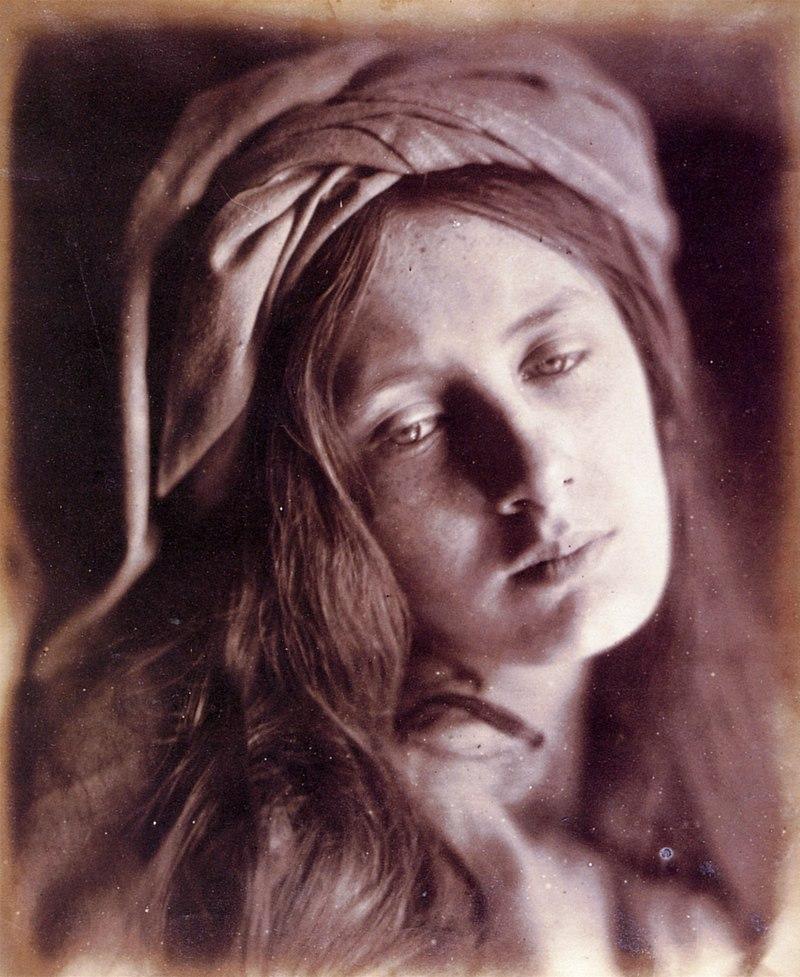 Образ Ченчи в исполнении фотографа Джулии Маргарет Камерон.