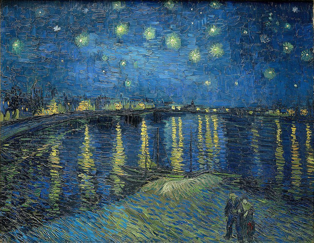 фото 1 Звёздная ночь над Роной, 1888.jpg