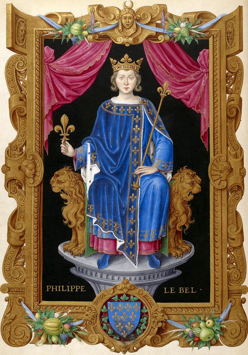 Филипп IV Красивый.