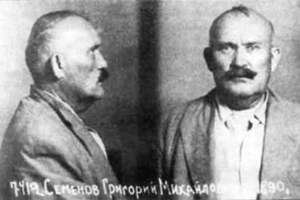 Из следственного дела Семенова, 1945.