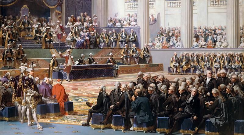 Открытие Генеральных штатов. Огюст Кудер, 1839 год.
