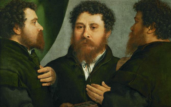 ФОТО 2 Лоренцо Лотто «Портрет мужчины в трех ракурсах».jpg