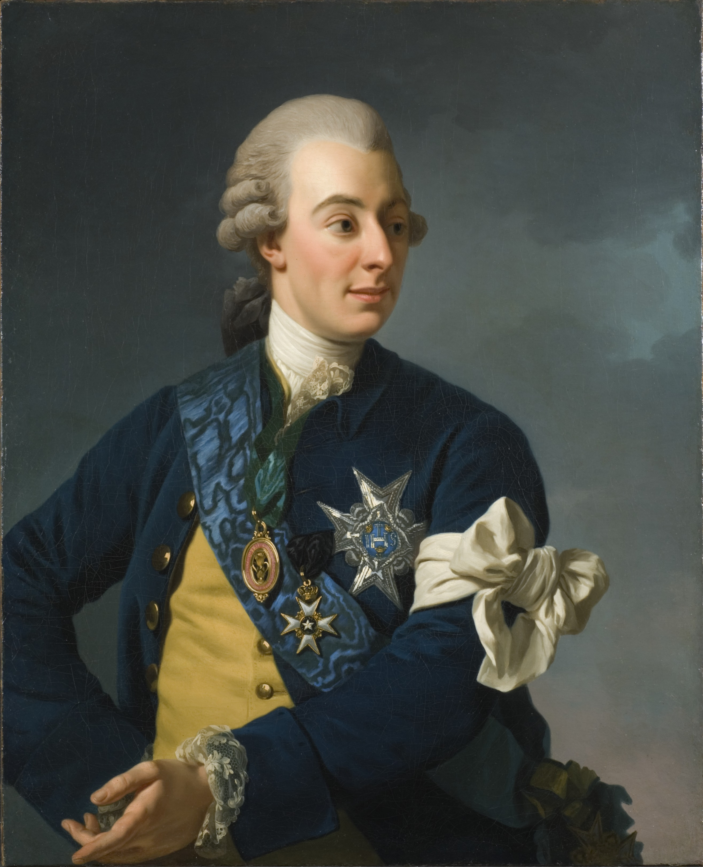 Портрет Густава III. <br>