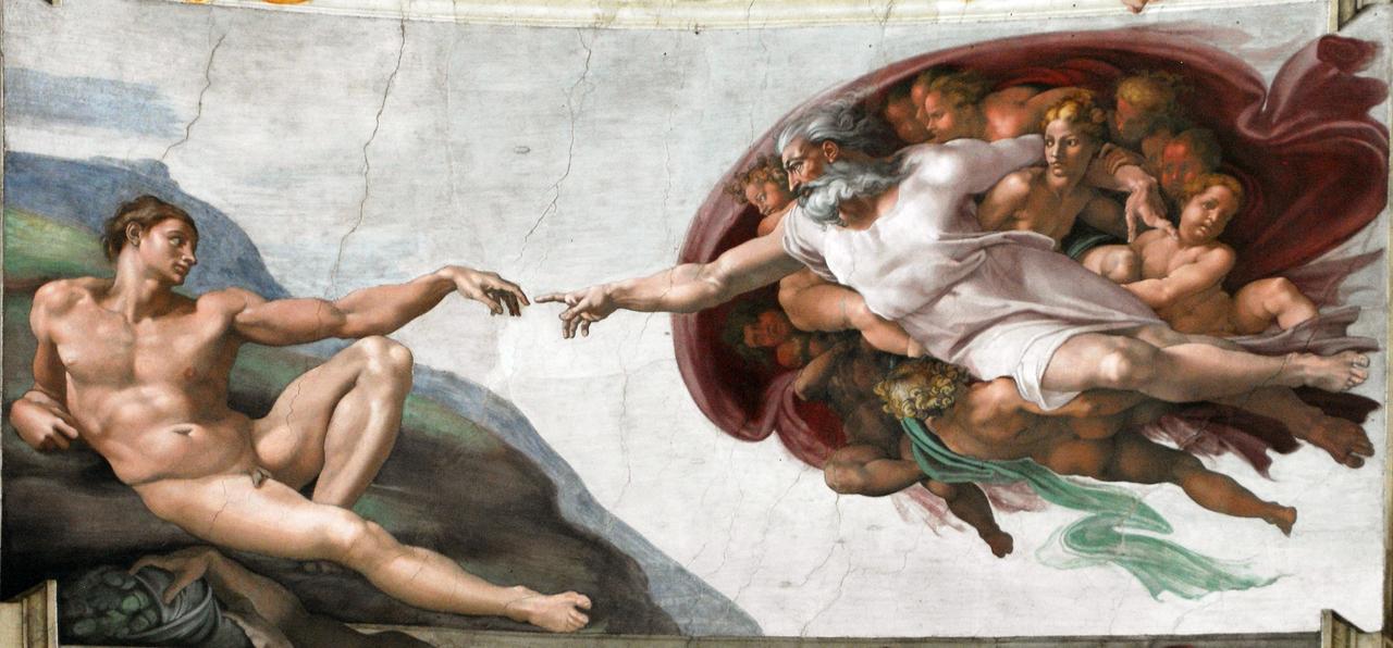 ФОТО 1 Сотворение Адама Микеланджело (1511).png