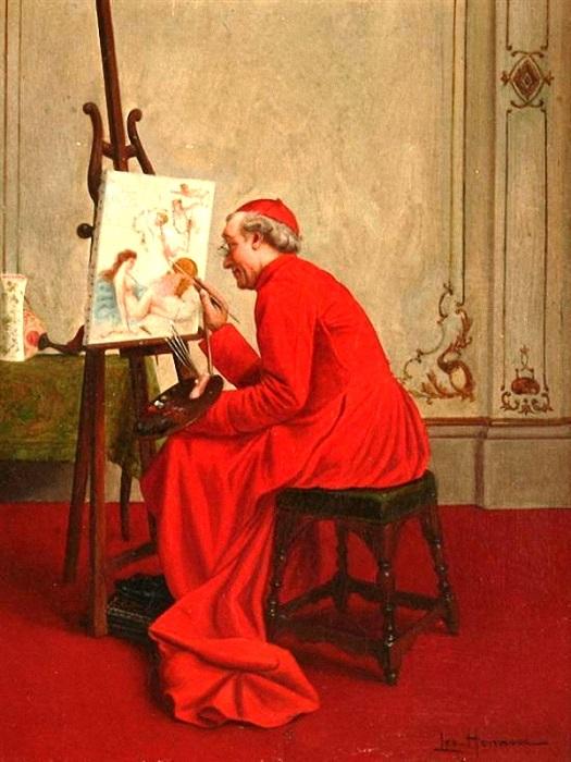 Лео Херрманн. В мастерской кардинала.