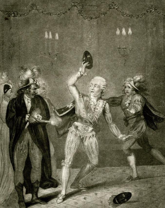 Убийство Густава III. <br>