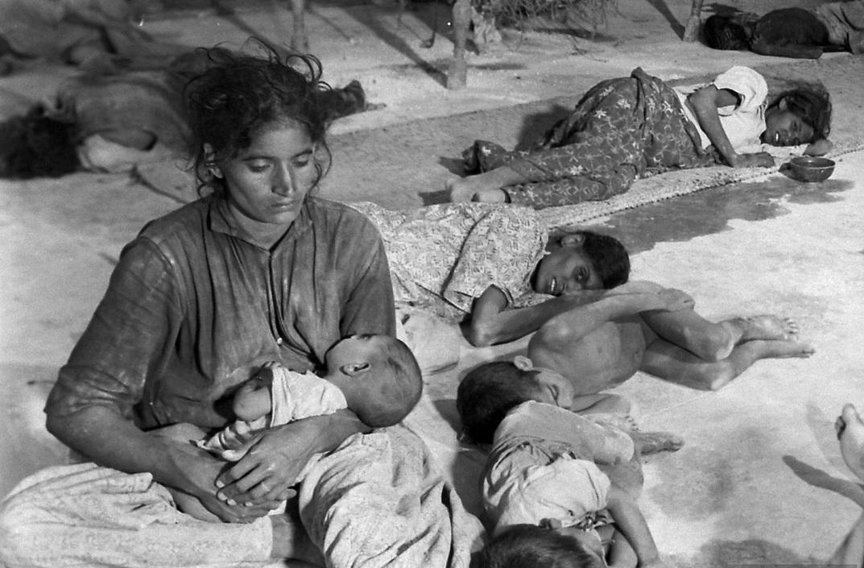 Женщины и дети, лишенные крова вовремя раздела Британской Индии