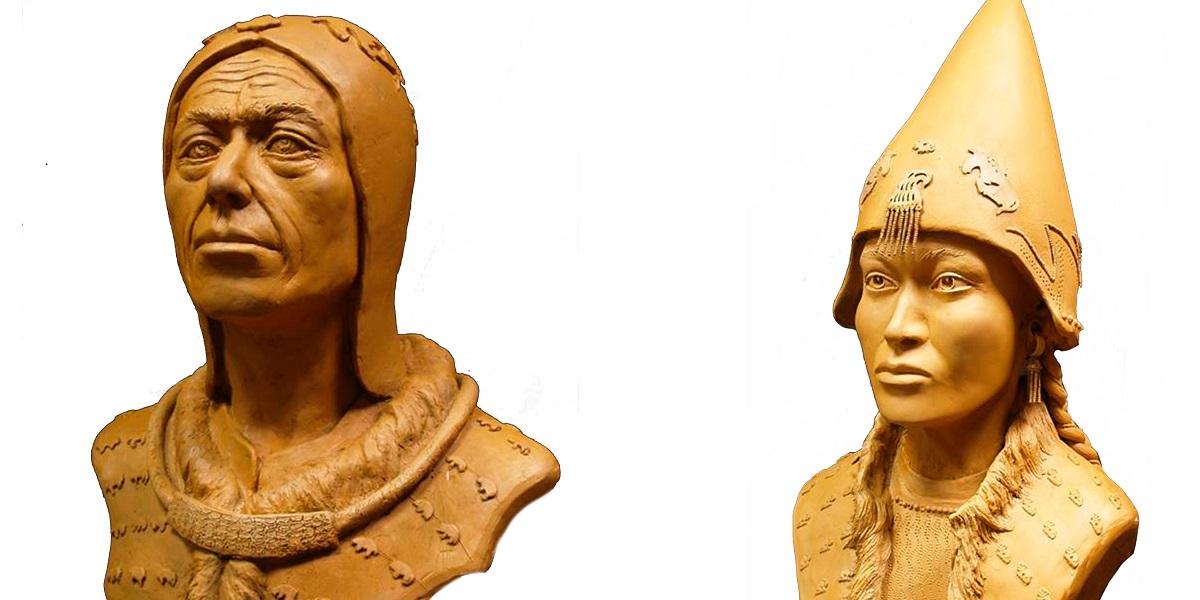 Воссоздана внешность скифского царя и его наложницы