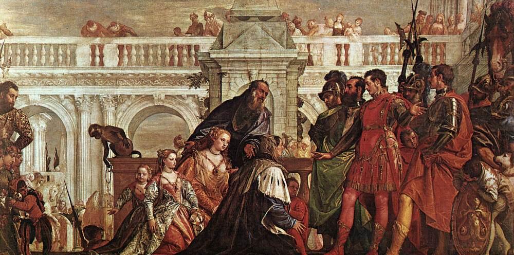 Паоло Веронезе. Семейство Дария перед Александром.