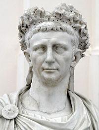 Бюст императора Клавдия. <br>