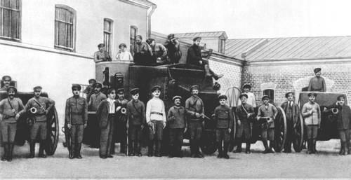 Красная гвардия Замоскворечья, 1917 г.