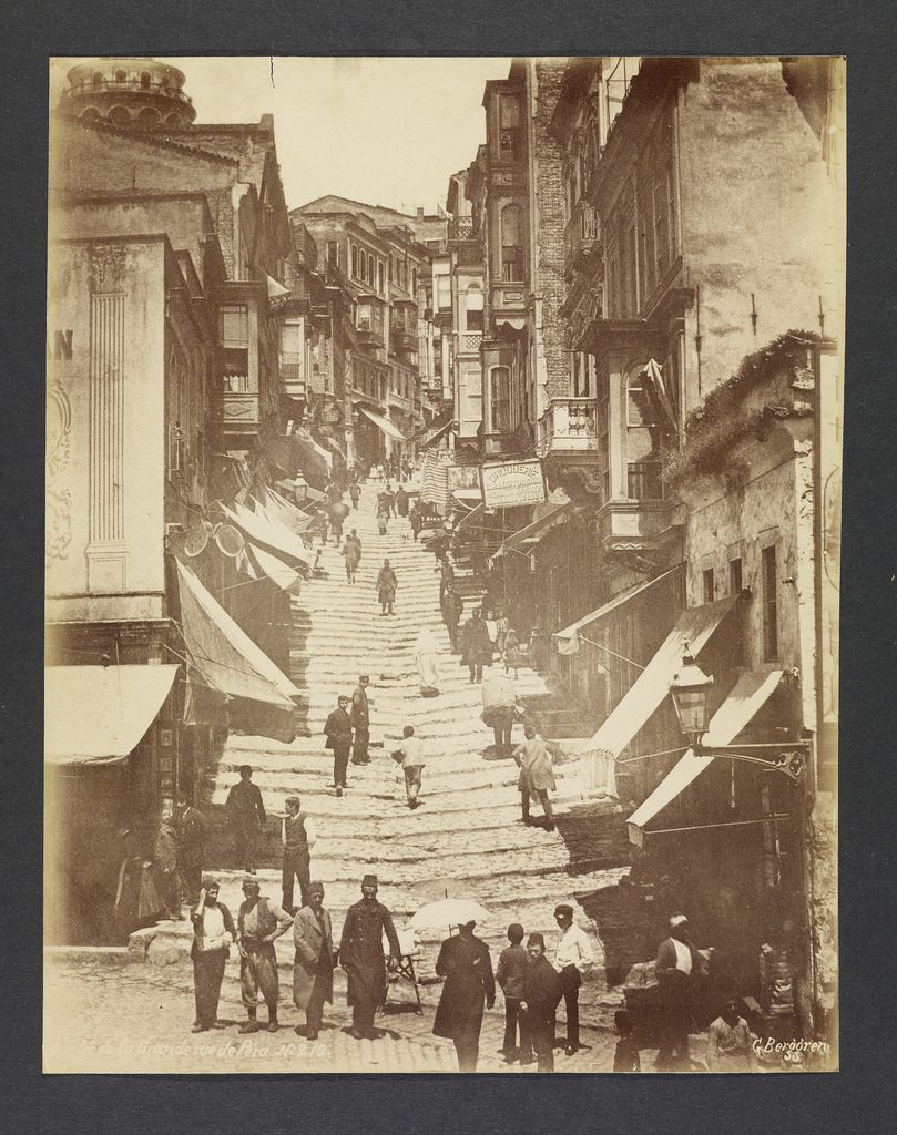 Константинополь, 1870-е.