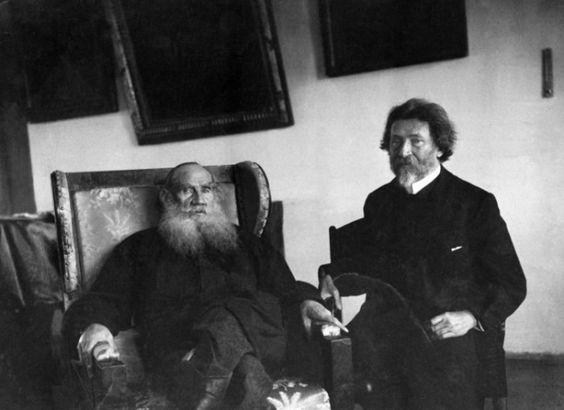 фото 4 Лев Толстой и Илья Репин, 1908.jpg