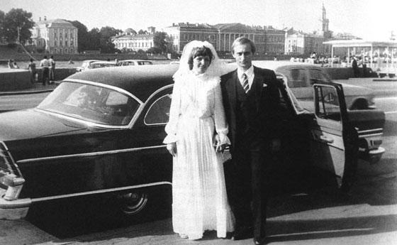 Путин и его жена Людмила.