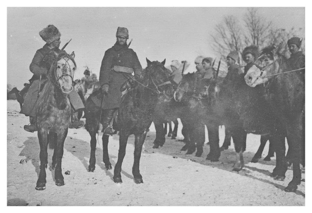 Казаки в Даурии, 1920.