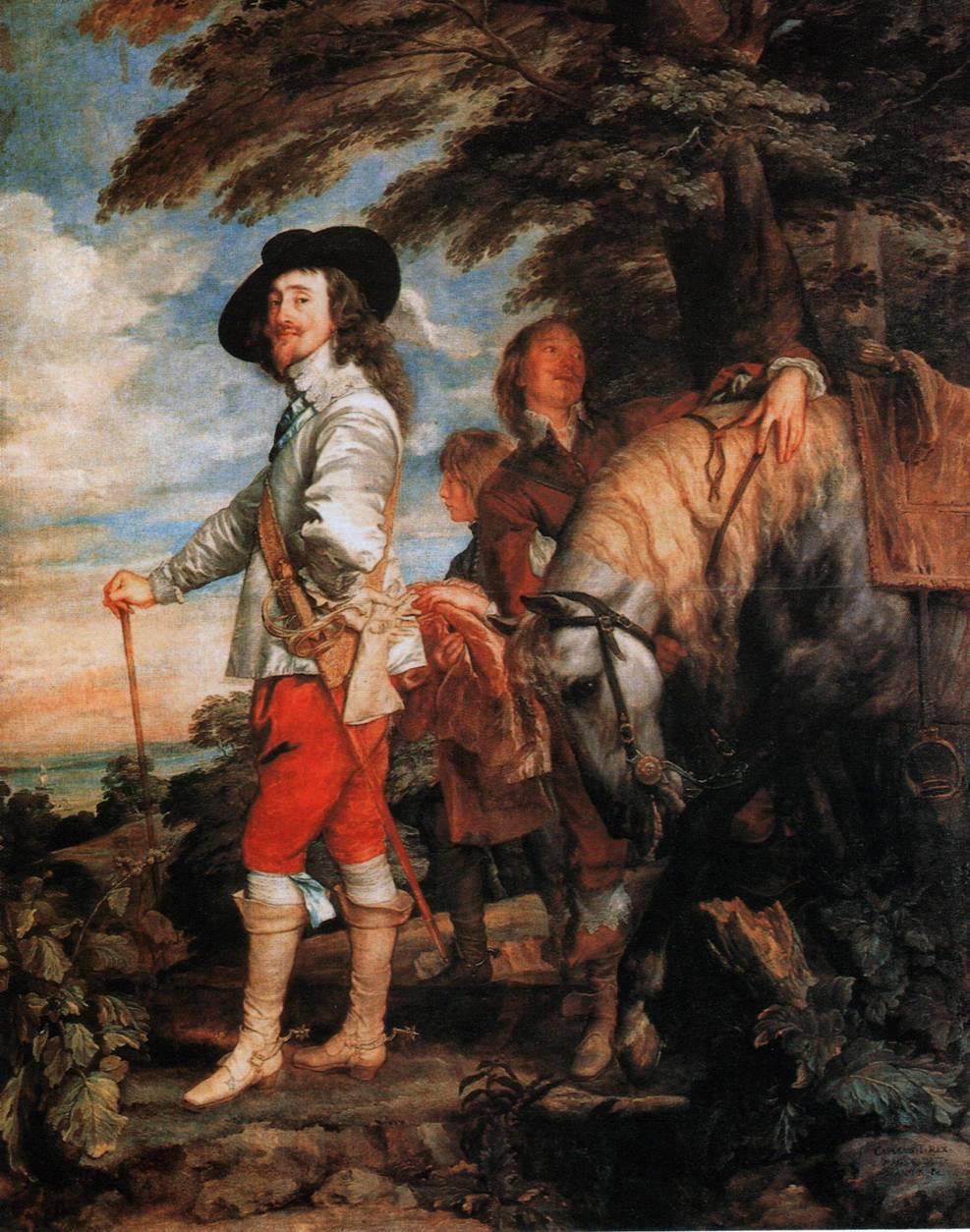 ФОТО 3 «Карл 1, король Англии, на охоте».jpg