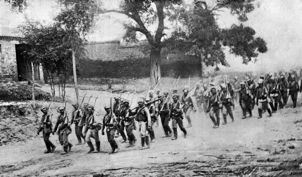 Русская пехота в Китае. 1900−1901 гг.