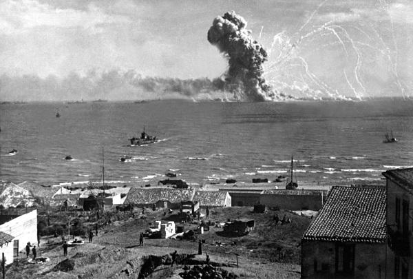Вторжение на Сицилию.