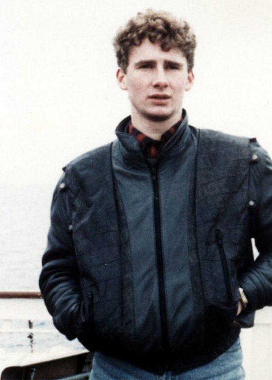 Крис Геффрой, ноябрь — декабрь 1988.