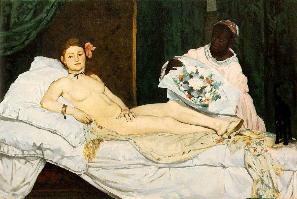 ФОТО 1 -Олимпия- Эдуарда Мане, 1863.jpg