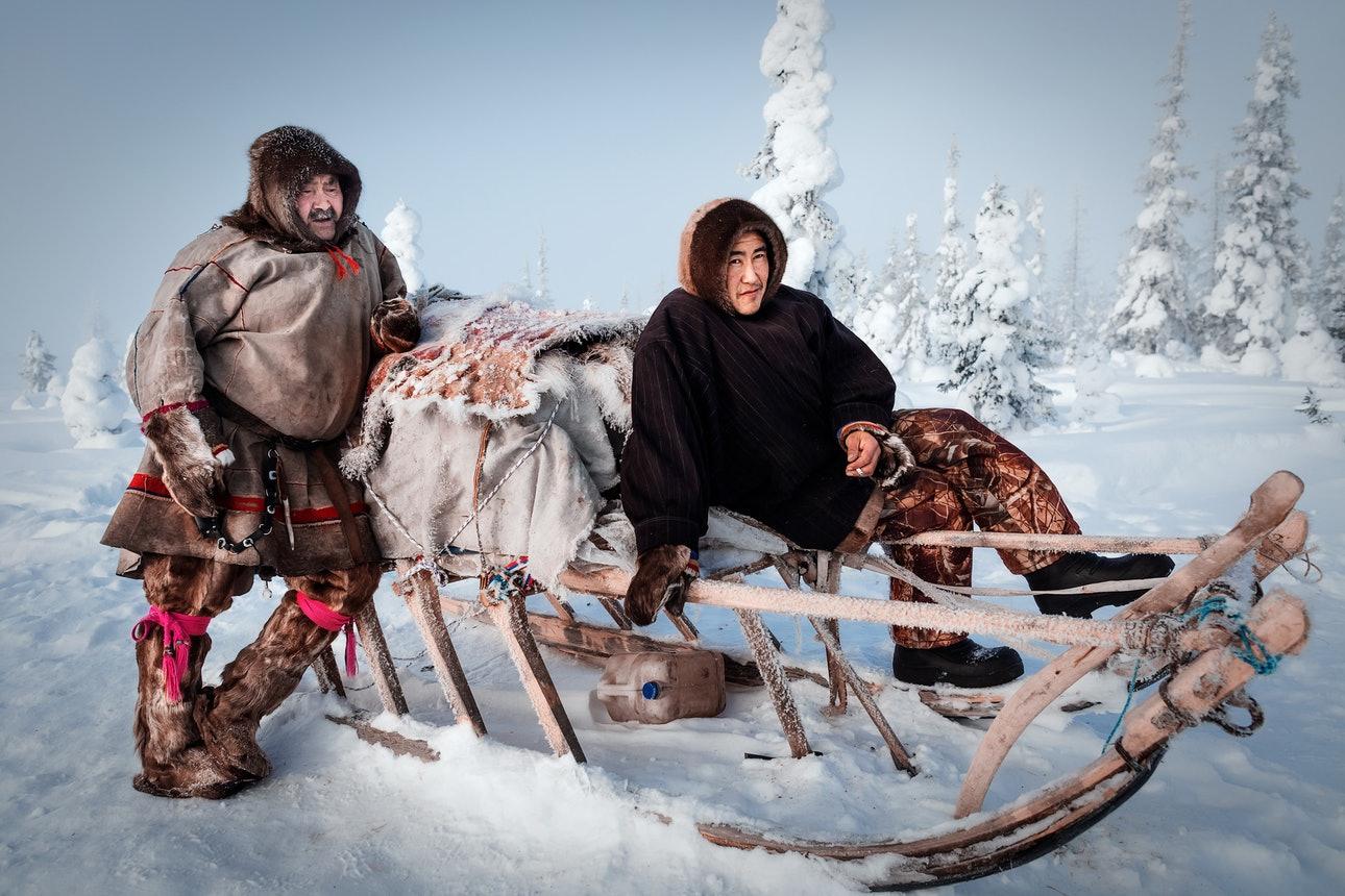 Сибирские ненцы.