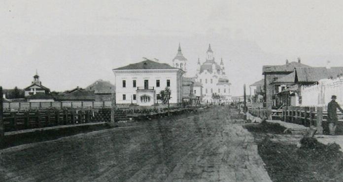 Тобольск, дом губернатора.<br>