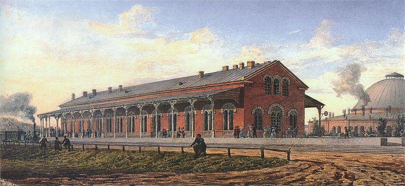 Станция 2 класса. Николаевская железная дорога.